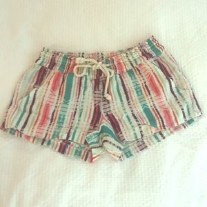 Roxy Fiesta Beach Shorts Size Medium
